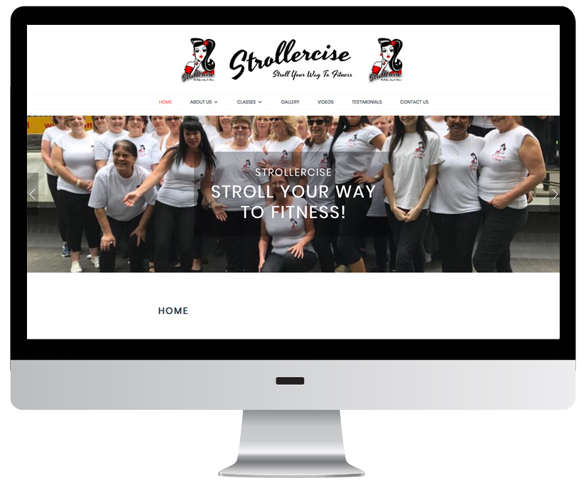 Strollercise Website